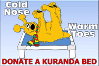 Donate a kuranda bed to the APL