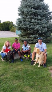 Crowe was adopted on September 18th, 2015 by his new family!