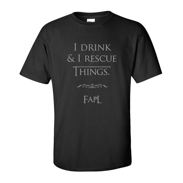 Drink n Rescue tee